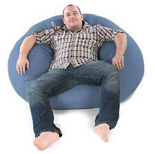 Denim Bean Bag 200L Chair Sofa Cushion Home Decor Lounge Bed Beanbag Soft Pillow