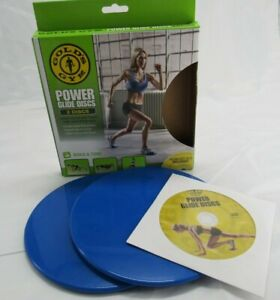 power glider disks core Leg Arm Full body Workout Fitness slider with DVD