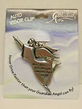 Angel Visor Clip - Never Drive Faster - New Style
