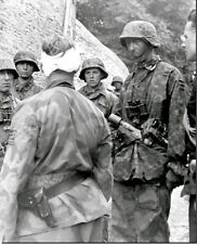 WWII B&W Photo Wounded German Soldier  Wehrmacht World War Two  WW2 / 2329