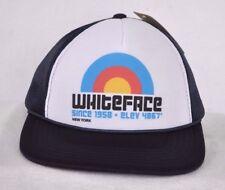 *WHITEFACE MOUNTAIN* Ski Snowboard Trucker Mesh Flat Brim Ball cap hat *OURAY*