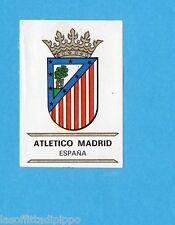 FOOTBALL CLUBS-PANINI 1975-Figurina n.101- ATLETICO MADRID SPAGNA- SCUDETTO -Rec