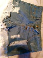 Denim Shorts Women's Medium