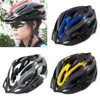 Unisex Adult Bicycle Bike Safety Helmet Adjustable Protective Cycling Shockproof