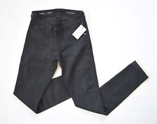 GUESS Women's Brittney Legging Embossed Crocodile Ankle Jeans – Black sz 27