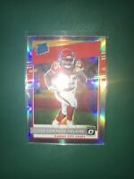 2020 Donruss Optic Clyde Edwards-Helaire Silver Holo Prizm Rated Rookie Chiefs