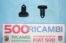 FIAT 500 F/L/R EPOCA KIT COPPIA GOMMINI TAPPO COPRI FORO CINTURE DI SICUREZZA