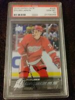 DYLAN LARKIN 2015-16 UPPER DECK YOUNG GUNS ROOKIE CARD PSA 10 GEM MINT.