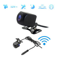 For iOS Android 175° WiFi Wireless Car Van Rear View Cam Backup Reverse Camera