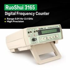 RuoShui 3165 Digital Precision Radio Frequency Counter Testing Meter 0.01 2.4G Z
