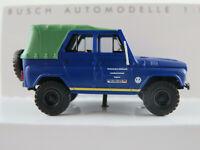 """Busch 52108 UAZ-469 (1972) """"THW / Landesverband Bayern"""" in dunkelblau 1:87/H0"""