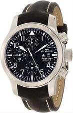 Fortis Men's 656.10.11 L.01 B-42 Flieger Automatic Chronograph Black Dial Watch