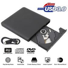 USB 3.0 External Blu-ray DVD/BD/CD Drive Portable Ultra-thin 3D Blu Ray Player