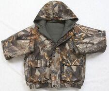 Reversible Jacket Youth 16-18 Remington Green & Camouflage Polyester Nylon Coat
