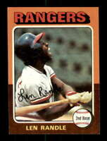 1975 Topps #259 Len Randle NM/NM+ Rangers 516925