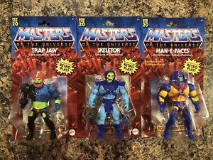 Masters Of The Universe Skeletor Trap Jaw Man-E-Faces Motu Mattel 2020 Figures