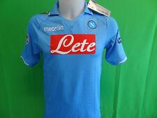 maglia originale NAPOLI 2011-12 CHAMPIONS-LEAGUE MACRON shirt jersey camiseta