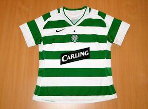 * CELTIC 2005 2006 woman LADY shirt M MEDIUM Nike jersey Scotland Glasgow Irish