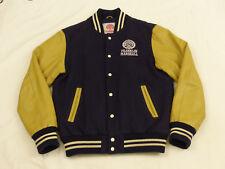 Franklin Marshall Varsity College Baseball Jacket Blue Vintage Gr: XL Tip Top