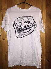 You Mad? Size Adult Large 2012 Cool face White T Shirt Unisex Memes Pop Culture
