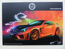 Carlsson C25 limited edition - Accessories for Mercedes - Prospekt Brochure 2012