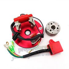 Red Racing Magneto Stator Rotor CDI Chinese Pit Dirt Bike 110 125 140cc Lifan YX