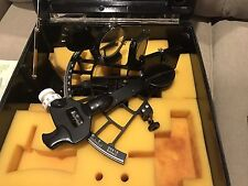 C. PLATH Classic Micrometer sextant NAVSTAR Hamburg Germany- 2 Cases