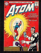 Atom #8 ~ 1st  Dr. Light ~ (5.0) 1963 WH
