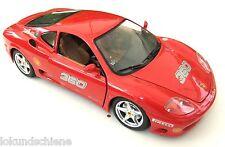 Ferrari  360 modena 1999   1:18 .. Bburago Metall  ..#33