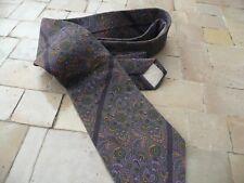 cravate soie vintage CHRISTIAN DIOR