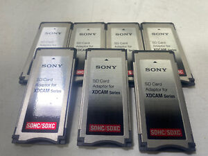 Sony MEAD-SD01 SDHC/SDXC Card Adapter for XDCAM EX Camcorders