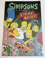 1996 Simpsons Comics Strike Back Book--1st Edition--Matt Groening--Homer, Marge