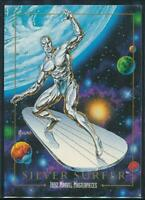 1992 Marvel Masterpieces Trading Card #90 Silver Surfer