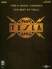 Tesla Time's Makin' Changes The Best Of Authorized Guitar Tab Book NEW!