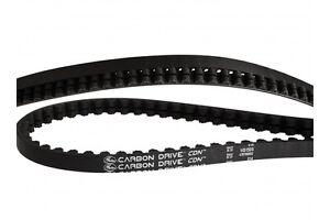 Gates Carbon Drive CDN, schwarz / schwarz, Riemen, passend für CDX System