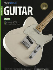 Rockschool Guitar Grade 1 2012-2018 TAB Book with Online Audio Songs Tests Exam