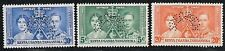 KENYA, UGANDA, TANGANJIKA 1937 Coronation perf SPECIMEN SG 128-30 mint