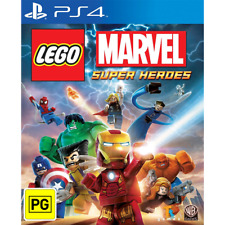 LEGO Marvel Super Heroes PlayStation 4 PS4 Game Brand New In Stock