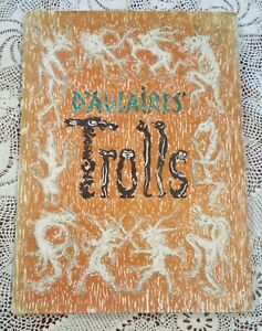 D'aulaire Trolls by Ingrid and Edgar Parin d'Aulaire 1972 Hardcover