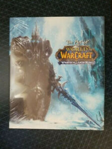 The Art of World of Warcraft Wrath of the Lich King Book NEW Sealed