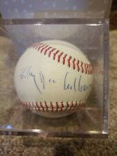 Star Wars Lando Actor BILLY DEE WILLIAMS Signed Autographed MLB Baseball COA @@