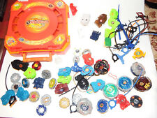 BEYBLADE METAL FUSION LAUNCHERS METAL FUSION BATTLE ARENA  HUGE LOT!