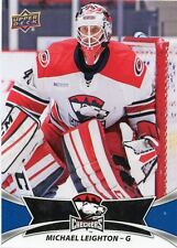 16/17 UPPER DECK AHL #80 MICHAEL LEIGHTON CHARLOTTE CHECKERS *31001