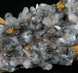HEMIMORPHITE crystals with Plattnerite * Ojuela Mine * Mexico