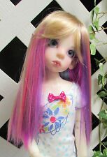 "Doll Wig, Monique Gold 6/7 ""Jewel"" Gems color Fantasy Wig"