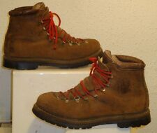 By Fabiano Tan Leather Mountain Climbing Boots Size 10