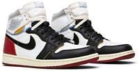 Nike x Union Air Jordan 1 Retro High OG NRG Black Toe BV1300-106 Size 12 US Men