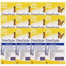 FreeStyle Optium Pack de 50 Tiras Reactivas de Glucosa