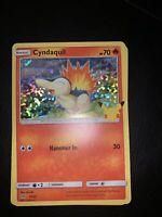 Pokemon 25th Anniversary McDonalds Cyndaquil Holo Promo 10/25  *IN HAND* 1x Card