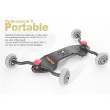 Konova Skate Dolly + BAG KSD2000 Video Wheel Slider Stabilizer for DSLR